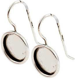 Earring Small Circle Silver