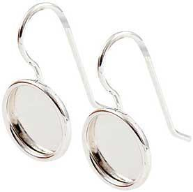 Earring Small Circle- Sterling Silver