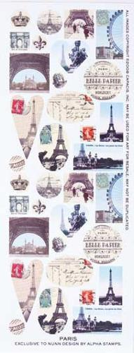 Collage Sheet Paris