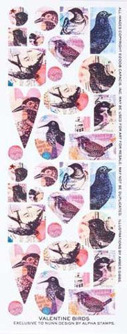 Collage Sheet birds