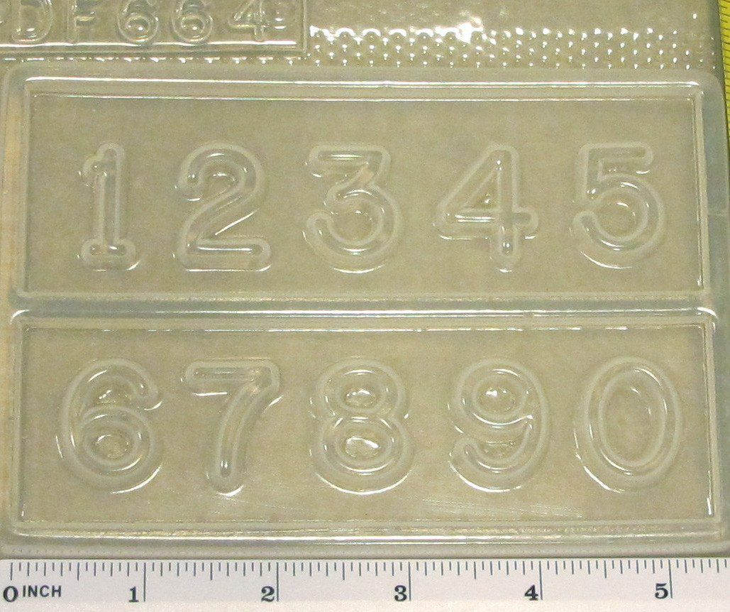 Numbers Mold 664