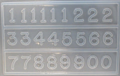 Numbers mold 699