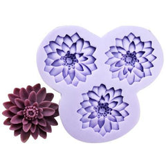 3 Chrysanthemum flower mold