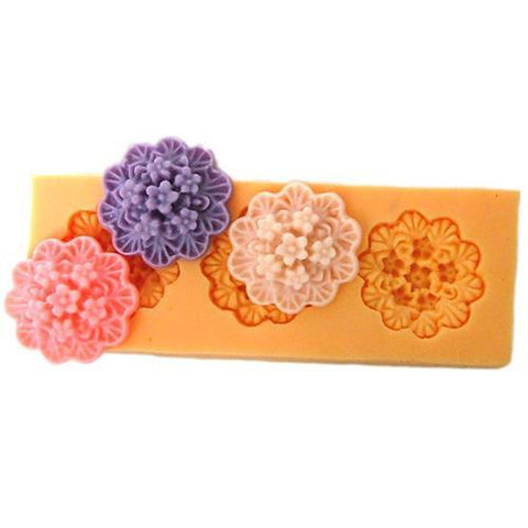 3 Small flower mold