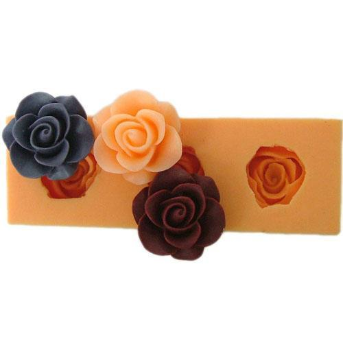 3 Small rose mold