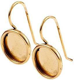 Earring Small Circle - Gold
