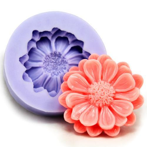 Daisy petal flower mold - single flower