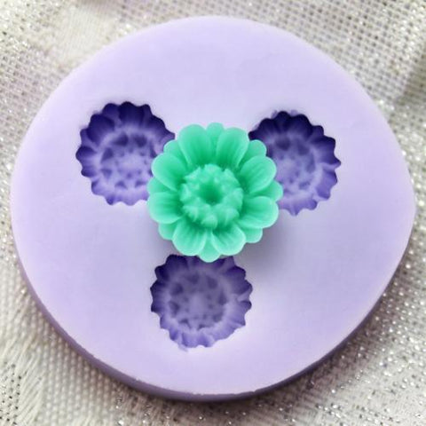 Daisy reusable silicone mold