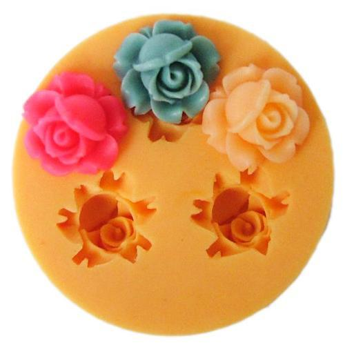 Small flower bud silicone mold