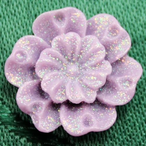Large petal open flower silicone mold