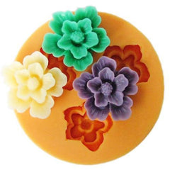 Tropical flower silicone mold