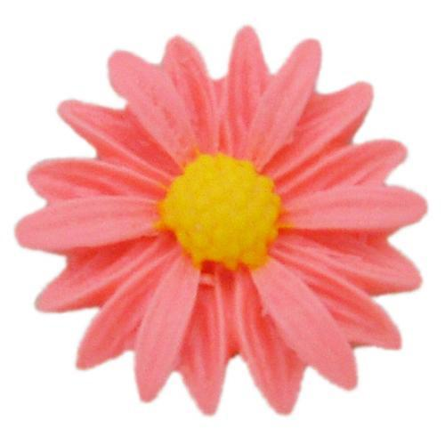 Single daisy flower silicone mold
