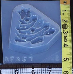 Christmas tree mold 857