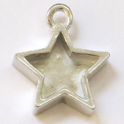 Star pewter bezel
