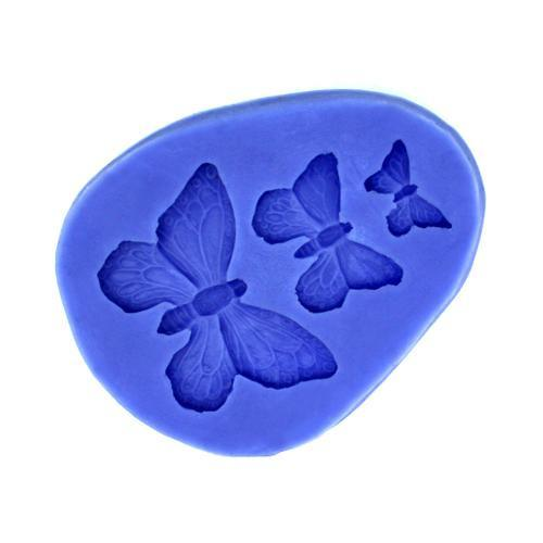 3 butterfly silicone mold