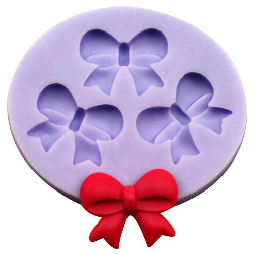 3 ribbon silicone mold
