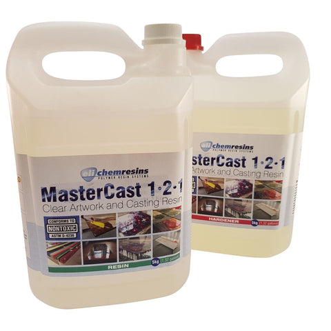 MasterCast artwork resin 350 ounce kit