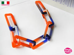 Clear silicone resin chain mold - make your own resin chain links