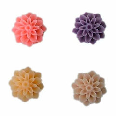 Chrysanthemum style flower silicone mold