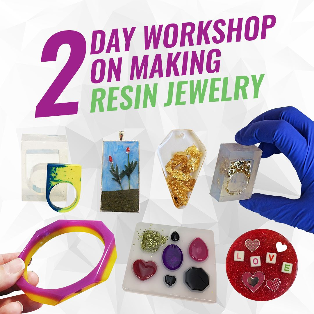 In-person two day resin class