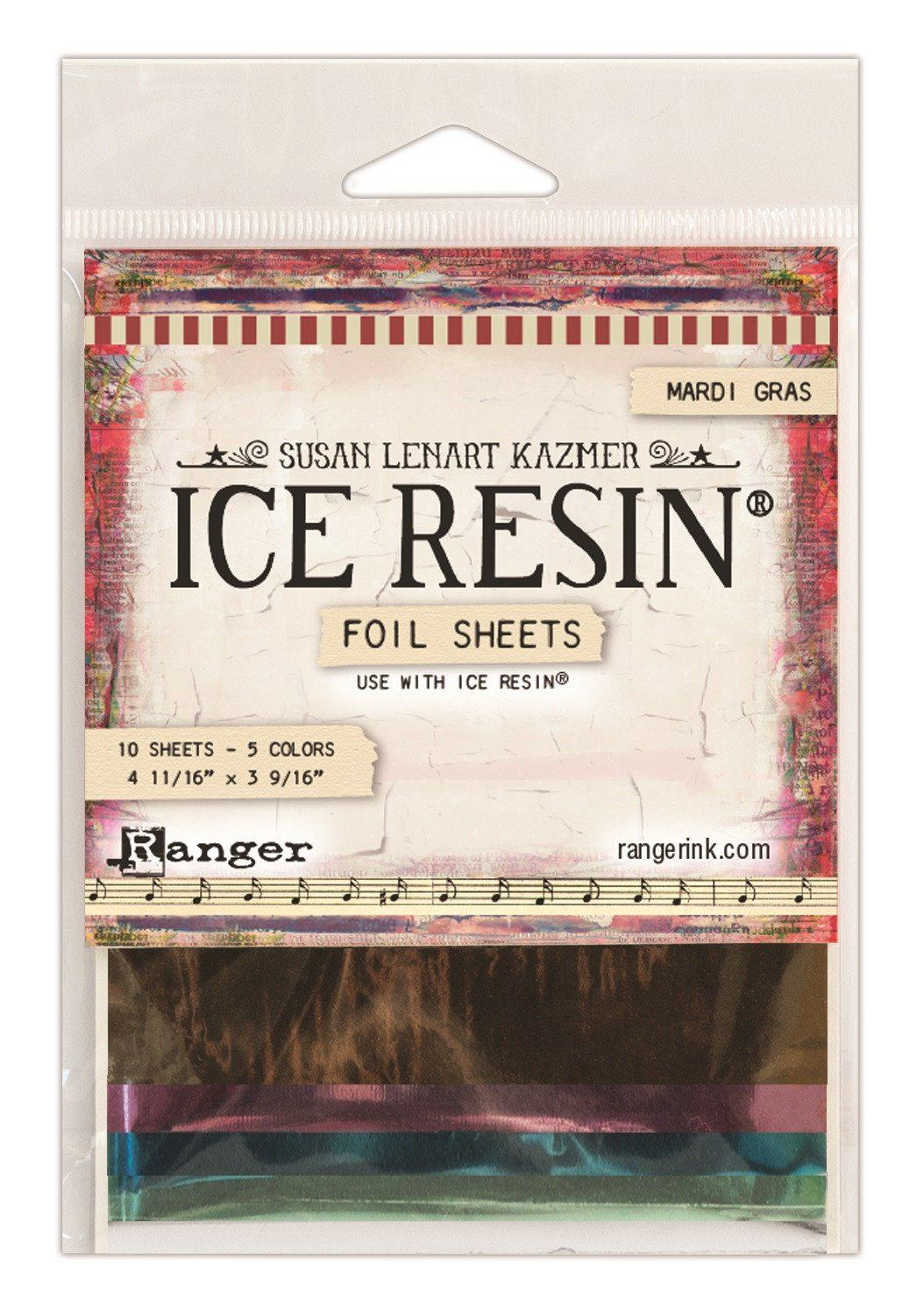 Ice Resin foil sheets