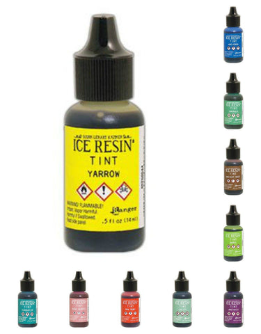 ICE resin tints - Alcohol tint colors for resin - set of 10