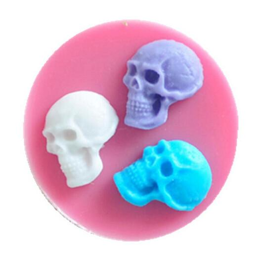 Skull reusable silicone mold