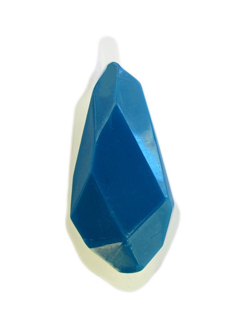 Clear silicone faceted gemstone jewelry charm mold