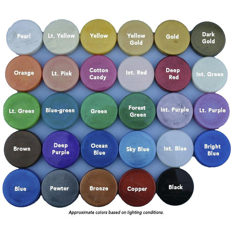 Alumidust colored powders