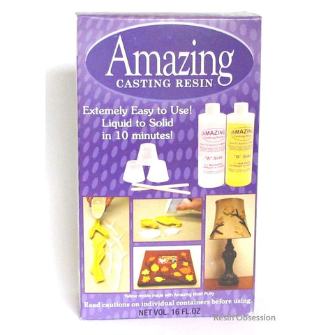 Alumilite Amazing Casting Resin 16 Ounces Opaque White