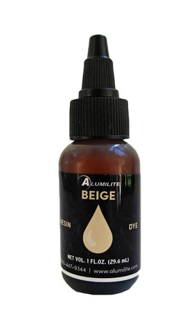 Alumilite Doll Skin Tone Liquid dye - single 1 ounce color - beige
