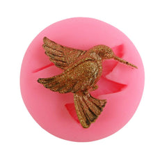 Hummingbird reusable silicone mold
