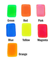 Bright Translucent Resin Color Pigments, Complete Set of 7