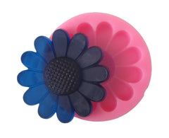 Large daisy flower silicone mold