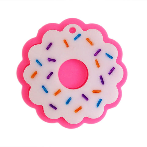 Donut charm silicone mold - Resin cookie silicone mold