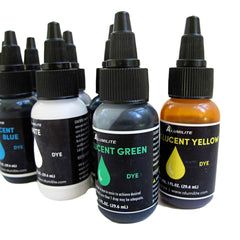 Alumilite Colorants Complete Set of Ten Liquid Resin dye
