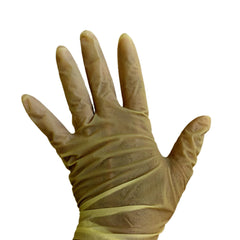 Latex Rubber Disposable Gloves - resin safety gloves - pack of 10