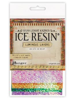 Ice Resin luminous layers