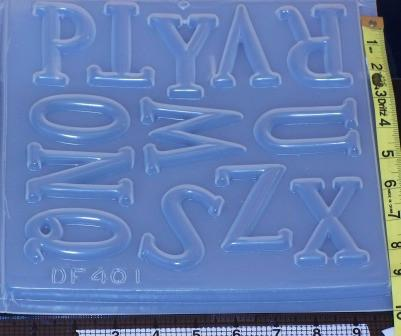 Alphabet Letters Molds 400 Amp 401 Resin Obsession