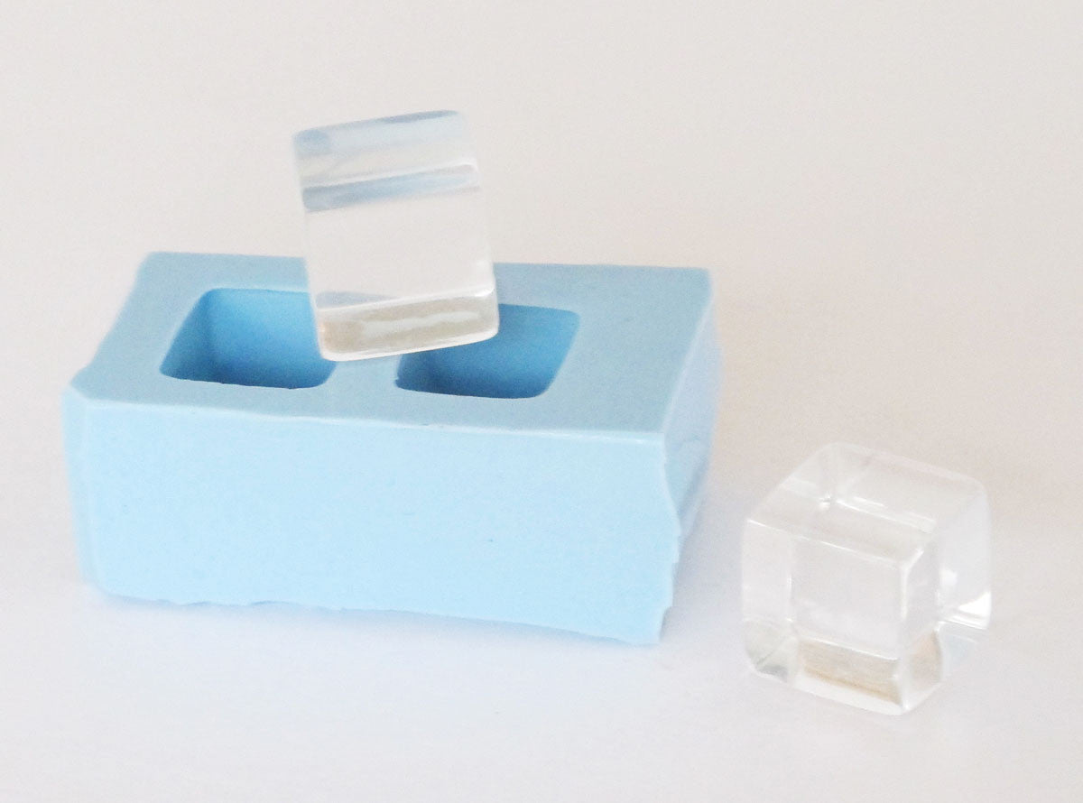 Cube pair mold 1/2 inch