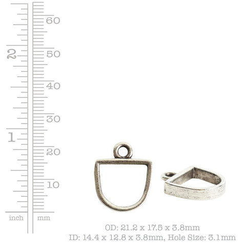 Nunn Design mini open half oval bezel