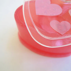 Heart shape trinket box resin mold