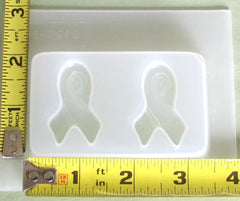 Breast Cancer Ribbon Jewelry Mold 616