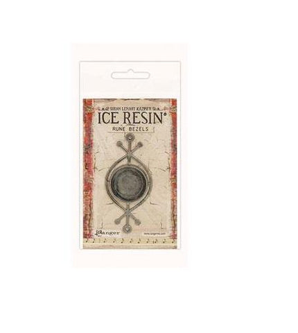 ICE resin rune bezels round shape