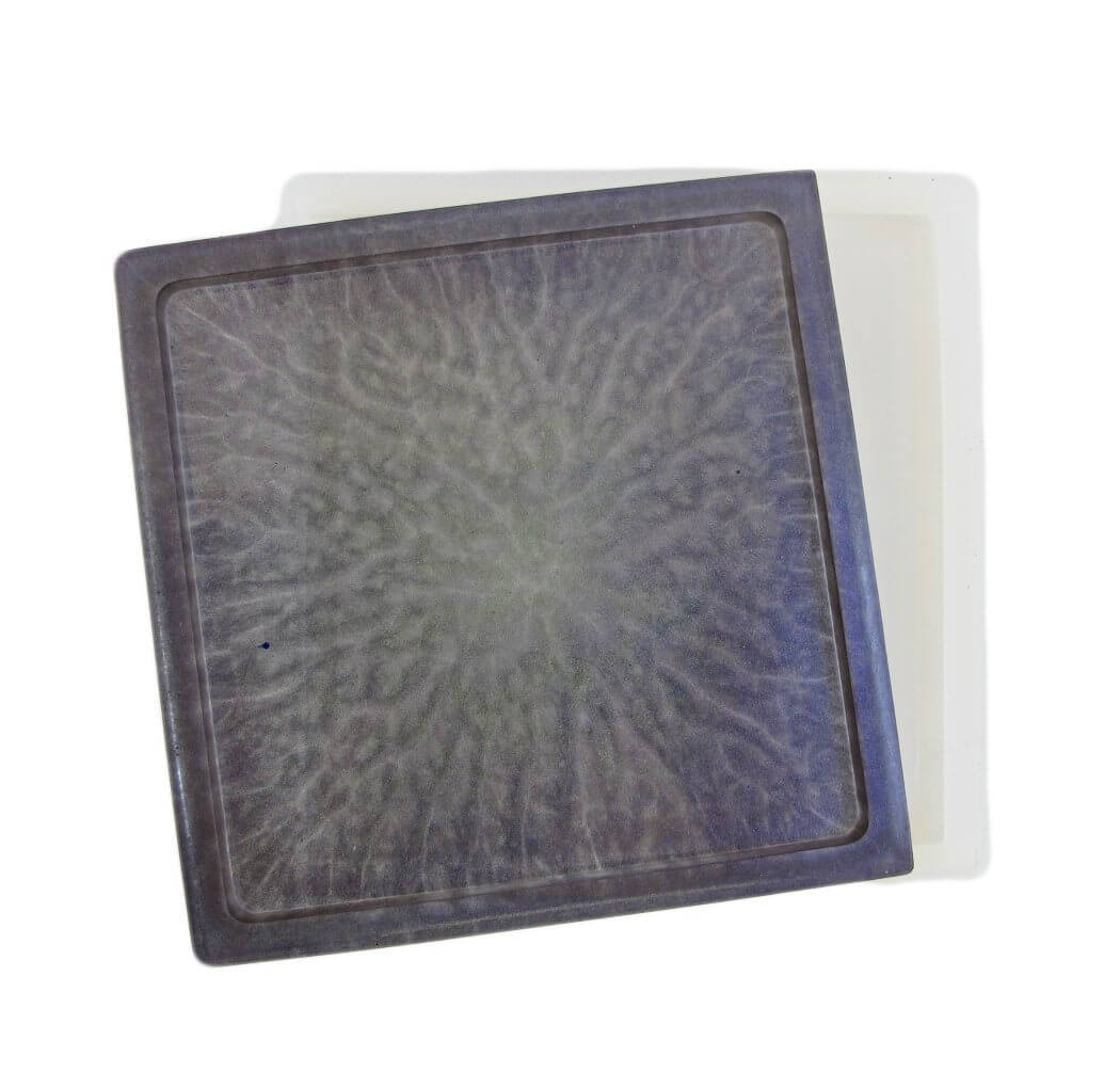 Square silicone coaster mold