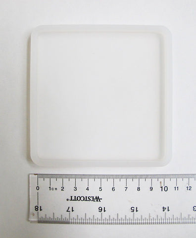 Square Base silicone coaster mold