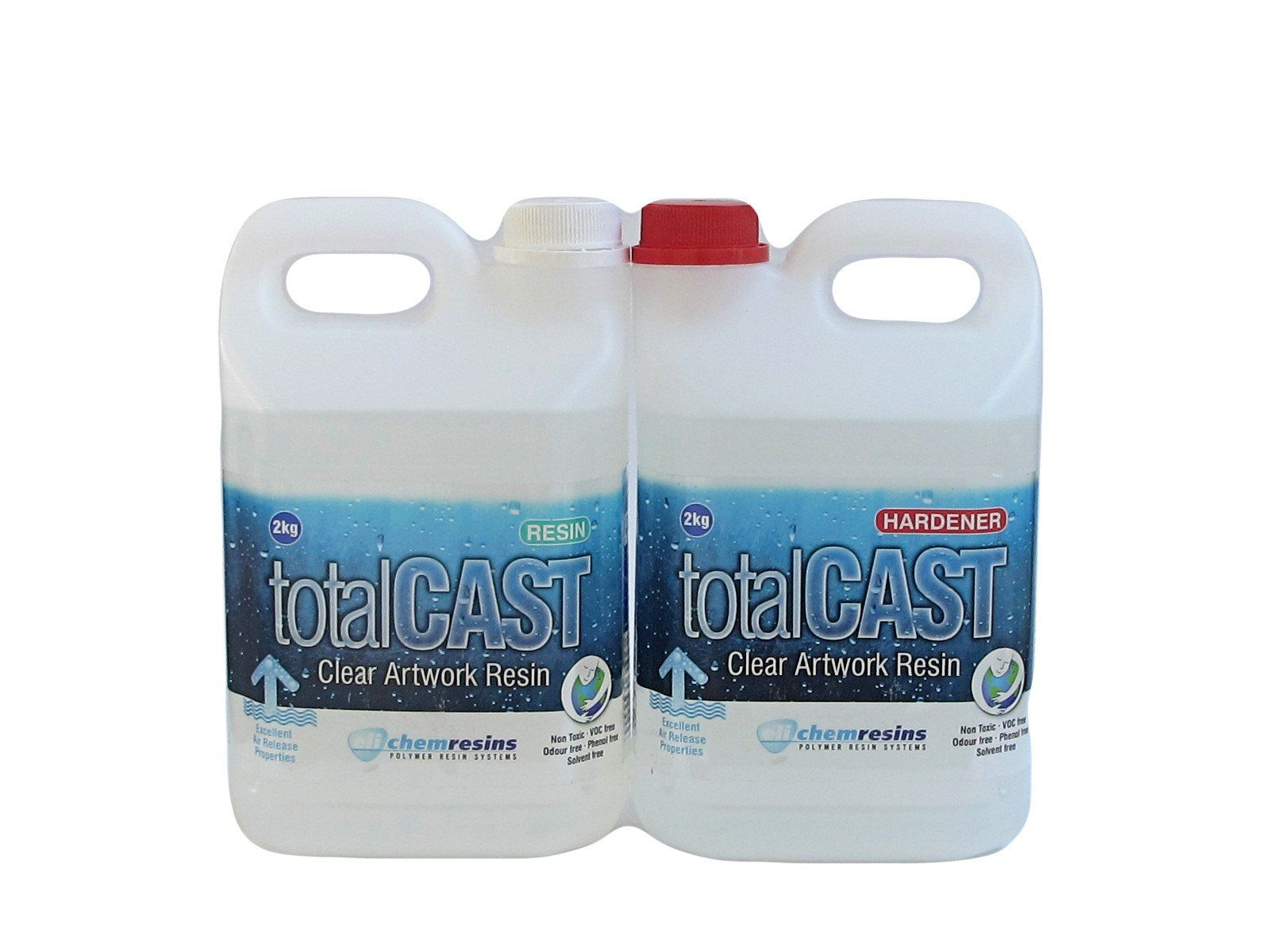 TotalCast Clear Artwork resin 141 ounce kit