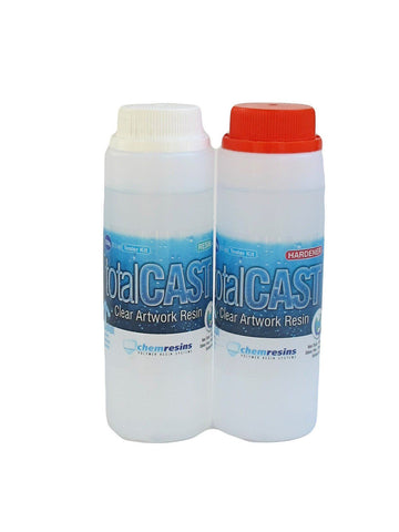 TotalCast Clear Artwork resin 17.5 ounce kit