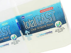 TotalCast Clear Artwork resin 350 ounce kit