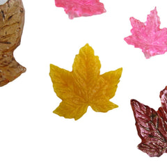 Maple leaves reusable silicone mold
